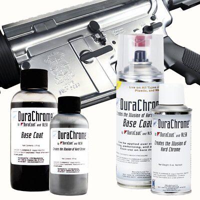 DuraChrome - Chrome Look Firearm Finish By DuraCoat - 16 oz (Chrome Polish 16 Oz Bottle)
