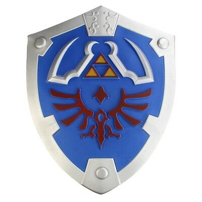Links Hyrule Schild als Polsterwaffe aus Zelda Shield für Cosplay Kostüme LARP
