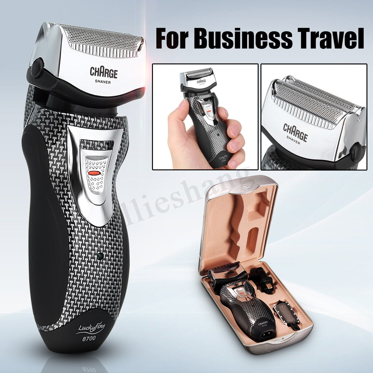 Rechargeable Electric Cordless Beard Shaver Razor Men Shavin