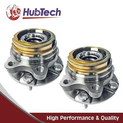 2x Front Left Right Wheel Hub Bearing Assembly for Nissan Murano 2003-2007