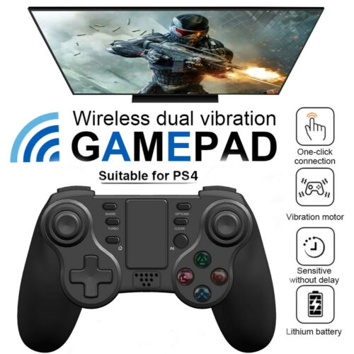 PS4 Controller Wireless Bluetooth for Playstation4 Dual Vibration Shock Joystick Controllers & Attachments