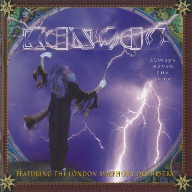 KANSAS - ALWAYS NEVER THE SAME  CD NEU