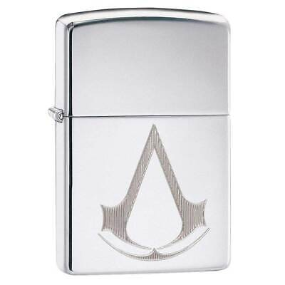 Zippo Windproof Lighter Assassin's Creed Engraved High Polish Chrome (29486)