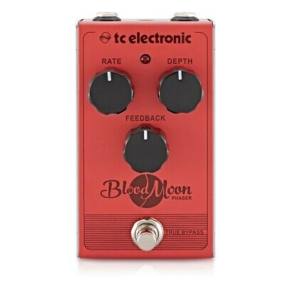 TC Electronic Blood Moon Phaser Pedal with four-stage filtew all-analog circuit