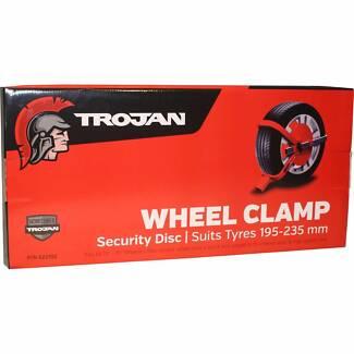 Trojan Defender Wheel Clamp 195-235mm (Part Number 522102 )