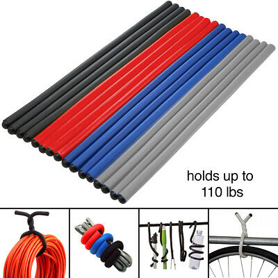 "16pk Large Twist Ties Heavy Duty 16"" Reusable Flexible Home Tool Storage Moving"