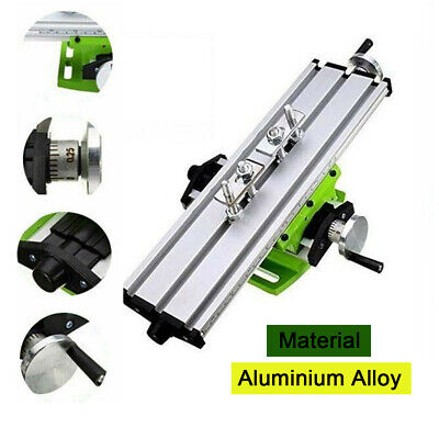 Milling Compound Working Table Diy Cross Sliding Bench Drill Vise Fixture 2 Axis