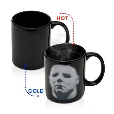 Michael Myers Halloween Coffee Mug   Heat Changing Coffee Cup   Holds 11