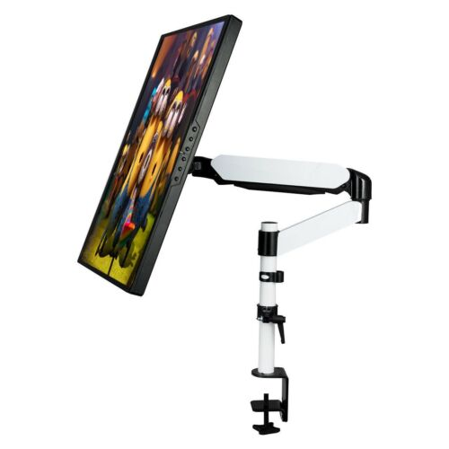 LCD Monitor TV Arm Desk Table Mount Stand Computer Screen Sw
