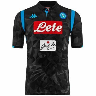 Deal Occasioni Speciali eBay.it Kappa T-shirt Sportiva Uomo Kombat Gara 2019 Napoli Calcio Sport Cna Camicia