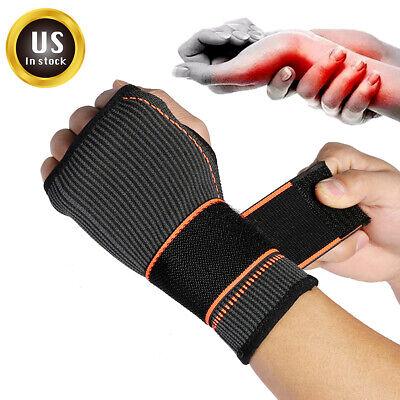 Sport Elastic Hand Support Compression Glove Carpal Tunnel Wrist Brace (Elastic Wrist Hand Brace)