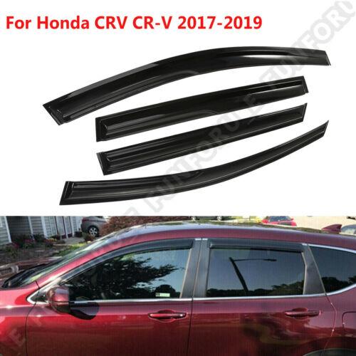 2017-2018 Honda CR-V 4 door Window Visor Vent Rain Weather Guard Deflector 4pcs