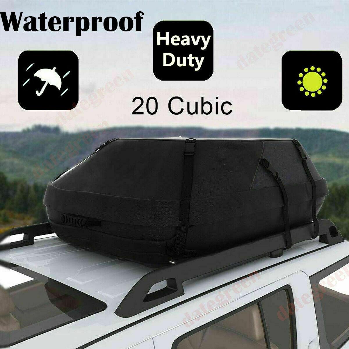 Faltbar Dachkoffer Universal Auto Dachtasche Wasserdicht Dachbox 580 Liter m 01