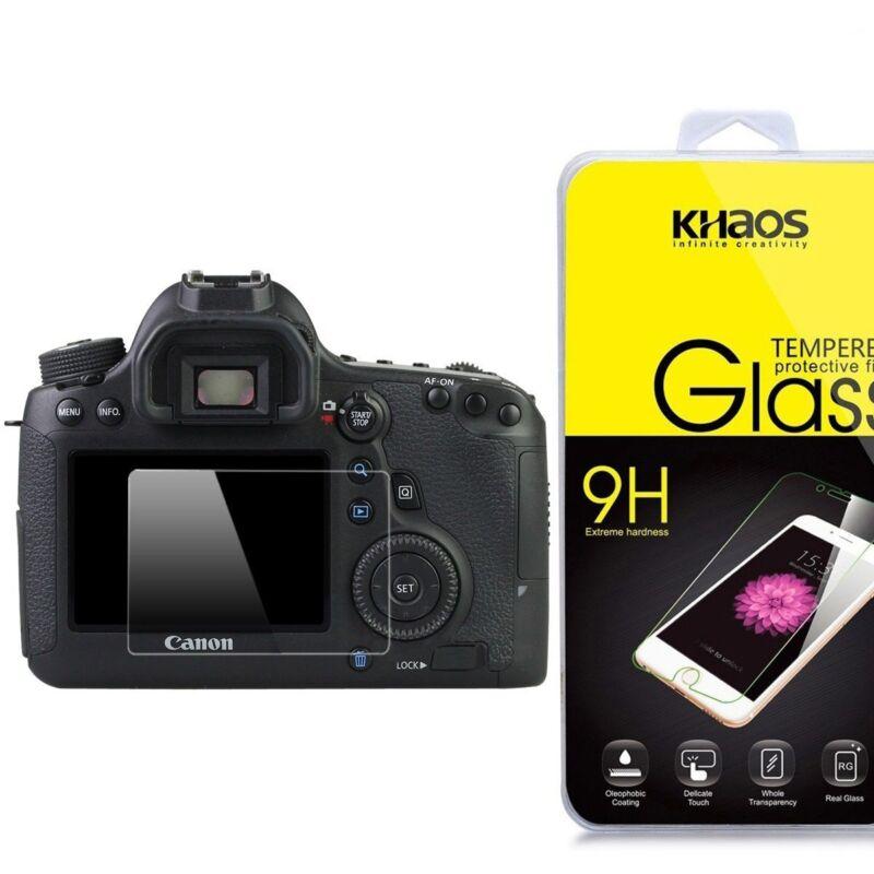 KHAOS Ballistic Tempered Glass Screen Protector For Canon 6D