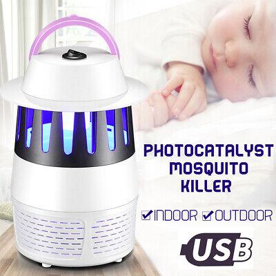 ZANZARIERA LAMPADINA UV LED USB ELETTRICO KILLER ANTI ZANZARA INSETTI ·