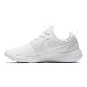 edf31d85622b8 WMNS Nike Roshe Two 2 Triple White Rosherun Womens Running Shoes ...
