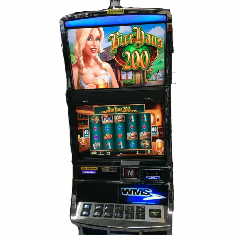 BIER HAUS 200 WMS Blade Dongle Game SLOT Software ONLY Williams Bluebird 3 BB3
