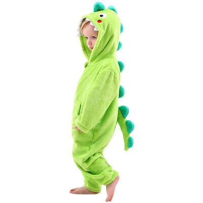 Little Boys Dinosaur Dragon Costume One Piece -Kids Halloween Birthday Gift