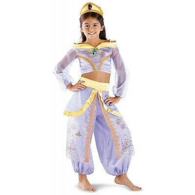 Toddler Disney Halloween Costumes (Jasmine Costume Kids & Toddler Sizes Disney Princess Halloween Fancy)