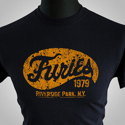 Baseball Furies T Shirt The Warriors Retro Movie New York Gang Cool 1979 Black