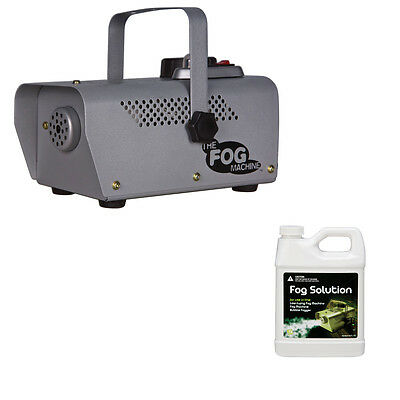 Remote Control Halloween Props (400W Fog Machine with wired Remote Control & 1 Quart Fog Juice Sunstar)