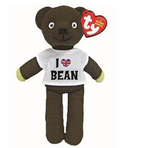 Ty Beanie Babies 46204 I love Mr Bean T Shirt Teddy