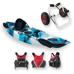 HUGE SALE!!! Stealth 2.7 FIND Single Fishing Kayak Package