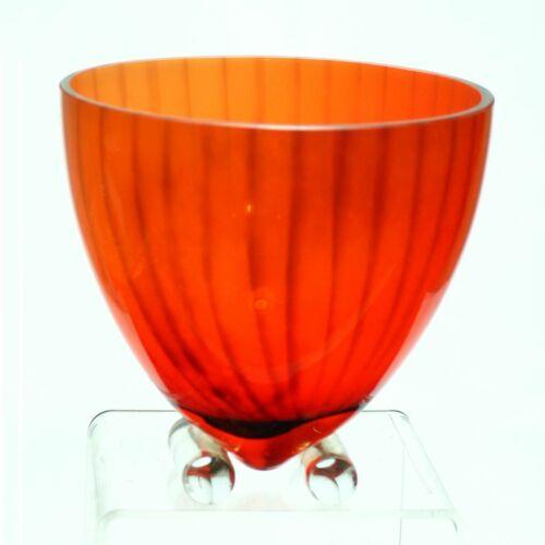 Kosta Boda Kjell Engman Orange Bowl. VGC