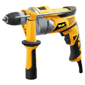 Wolf Heavy Duty 710w Impact Hammer Drill Variable Speed 13mm 1/2