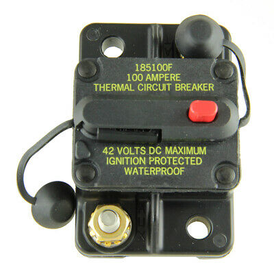 Bussmann Cb185-100 Surface-mount Circuit Breakers 100 Amps 1 Per Pack