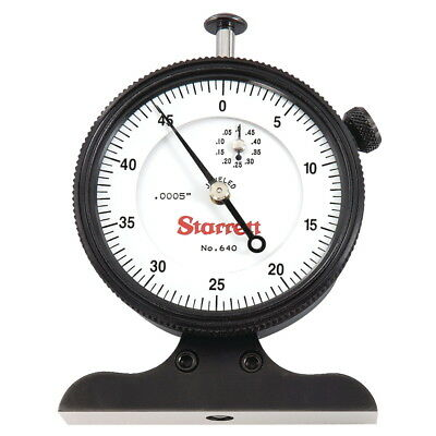 Starrett 640jz Dial Depth Gage