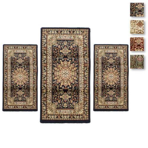 Set parure tappeto scendiletto 3 pz tappeti obama art artemis p482 ebay - Tris tappeti camera da letto ...