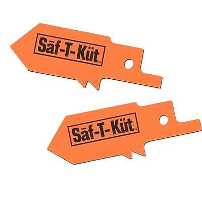 Saf-t-kut Drywall Reciprocating Saw Blades 2 Pk Cuts Drywall Not Pipes