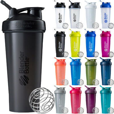 Blender Bottle Classic 32 oz. Shaker Mixer Cup with Loop Top