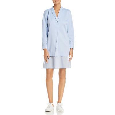 Le Gali Womens Tia Layered Above Knee Office Wear Shirtdress BHFO 2281