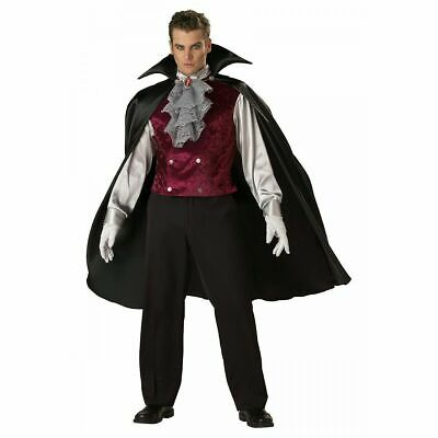 MENS COSTUME CLASSIC VAMPIRE Adult InCharacter Gothic NEW Large