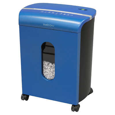 Goecolife Limited Edition 10 Sheet Microcut Shredder 3.5-gallon Bin Blue
