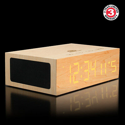GOgroove BlueSYNC TYM Bluetooth Stereo Speaker System & Alarm Clock