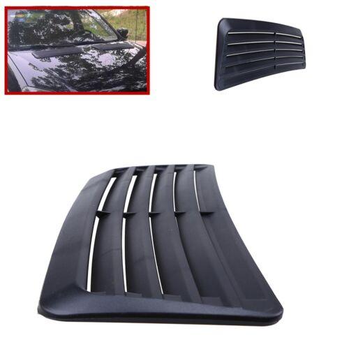 1pcs Car Decorative Air Flow Intake hood Scoop Vent Bonnet Cover ABS plastic