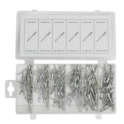 Normex Qualitäts-Werkzeuge Alu-Blindnieten 150tlg Sortiment Nieten 14-215