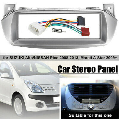 Car Stereo Radio Fascia ISO Wiring Harness Aerial Fitting For Suzuki Alto