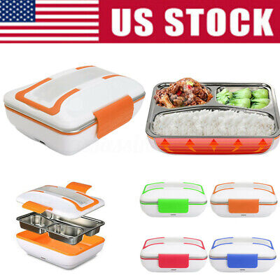 12V/110V/220V Portable Electric Heated Food Warmer Container