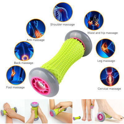 Manuelle Massagegeräte Pflege- & Wellness-geräte Fußmassageroller Mit Gumminoppen Holz 48 Rollen Reflexzonenroller Fuß Wellness