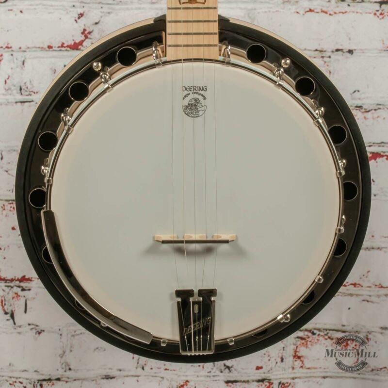 Deering Goodtime 2 5-String Beginner Bluegrass Banjo x9595