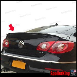 Rear Trunk Lip Spoiler Wing (Fits: VW CC 2008-2018 US model) SpoilerKing 244L