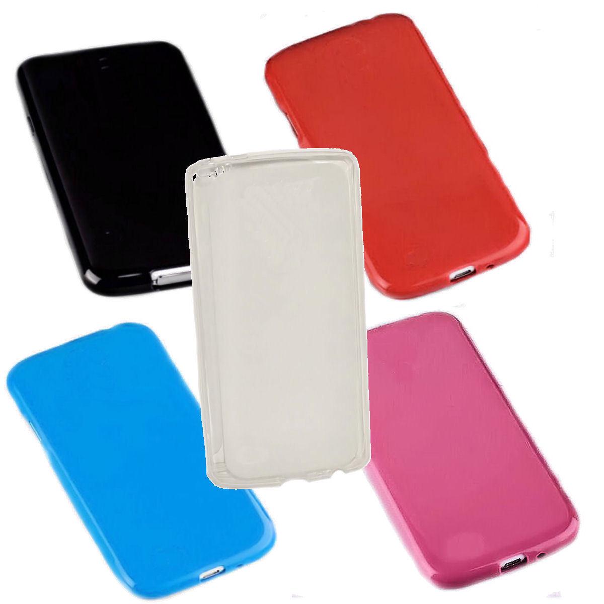 Dark Case Silikon TPU Handy Cover Hülle Kappe Schale Schutzhülle   -   Auswahl 2
