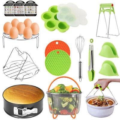 15 Set  Instant Pot Accessories Fits 6 qt 8 Quart Pressure Cooker Steamer Basket