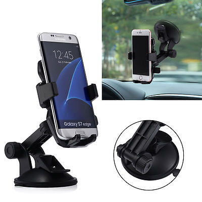 Universal 360� Car Holder Windshield Dashboard Mount Suction Cup For Cell Phone
