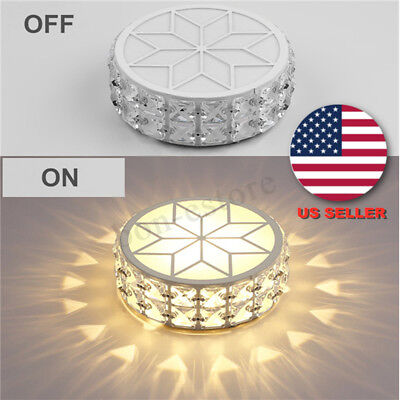 Down Pendant Ceiling Light - Crystal LED Ceiling Down Light Flush Wall Mount Fixture Pendant Lamp Home  US