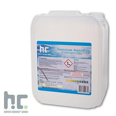1 x 10 L Algenvernichter Algicid Algenex Antialgen Pool